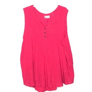 Avenue Pink Tank top Size 30/32